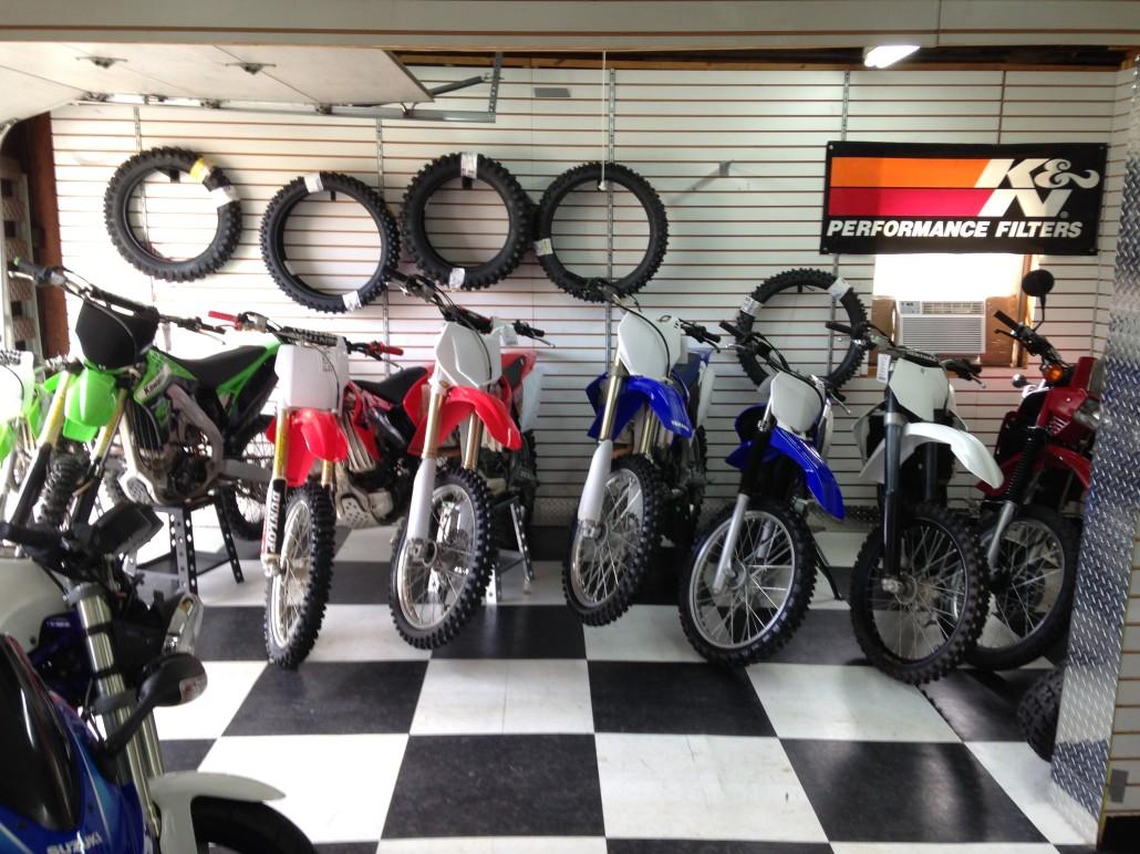 how to open a dirt bike shop